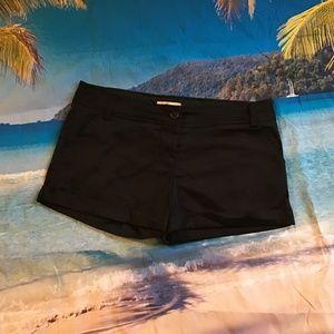 Forever 21 black shorts sz L very cute!